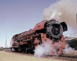 Kimberley, 1982. SAR Class 26 No 3450 'Red Devil'. [T Robberts]