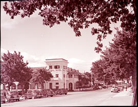 Paarl, 1939. Central Hotel.