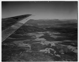 May 1946. Trip to Cape Town with SAA Douglas DC-4 ZS-AUA 'Tafelberg', view from aircraft over fer...