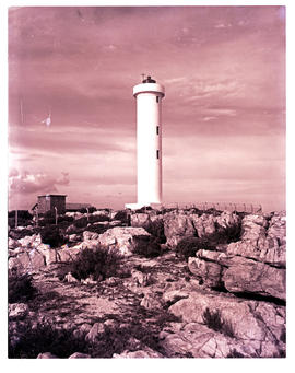 Cape Town, 1962. Cape Hangklip lighthouse.