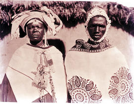 """Transkei, 1940. Two Tembu people."""