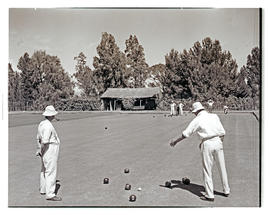 """Aliwal North, 1938. Bowling green."""