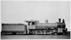 CGR 6th Class superheater built by the newly formed North British Loco Co in 1903, later SAR Clas...