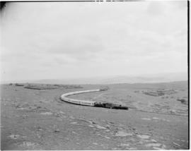 Eastern Cape, March 1947. SAR Class with Royal Train.