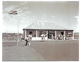 """Aliwal North, 1938. Golf club house."""