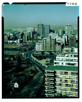 Johannesburg 1966. City view.