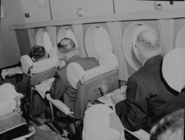 Circa 1945. Avro York interior.