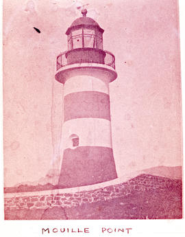 Cape Town, 1948. Mouille Point lighthouse.
