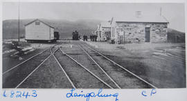 Laingsburg. Railway station. (EH Short)