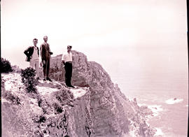 Cape Town, 1926. Near the lighthouse at Cape Point.