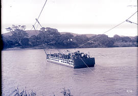 Natal. Ferry on the Tugela River.