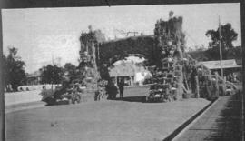 Ladysmith, June 1925. Welcoming arch for Royal visit. (Album on Natal electrification)