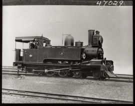 Locomotive No 9 locomotive, later SAR Class C.