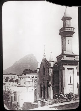 Cape Town, circa 1880. Building of worship.