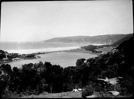 Wilderness, 1928. Bridge at river mouth.