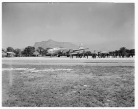 Cape Town, May 1946. Trip to Cape Town with SAA Douglas DC-4 ZS-AUA 'Tafelberg'.