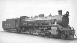 SAR Class 19C No 2462 built by North British Loco in 1934.