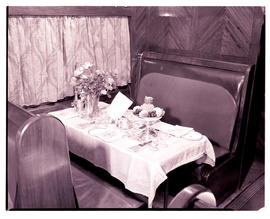 """1948. Blue Train Type A-33 dining car."""