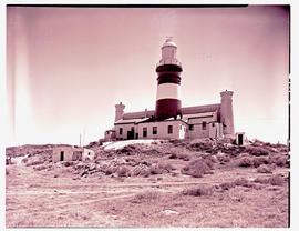 Cape Agulhas, 1945. Lighthouse. See M2566