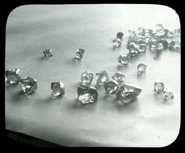 Kimberley. Rough diamonds.