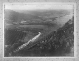 Blaauwkrantz bridge, April 1911. Accident scene.