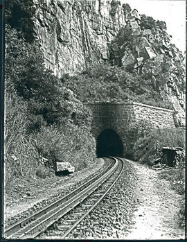 Waterval-Boven. Rack railway at NZASM tunnel.