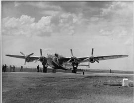 SAA Avro York ZS-ATP 'Springbok', post-war transport aircraft.