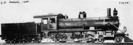 Cape 6th Class Baldwin built by the Baldwin Loco Co in 1901, later SAR Class 6K.