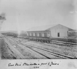 Standerton, 1895. Station building completed.
