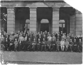 Pietermaritzburg, 1906. Customs Union Conference, Dr Jameson seated near the centre.