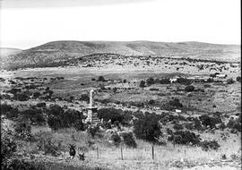 Vryheid district, 1937. Piet Retief memorial at Dingaan's kraal.