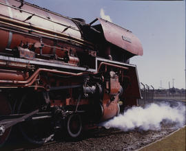 Kimberley district, 1982. SAR Class 26 No 3450 'Red Devil'. [T Robberts]