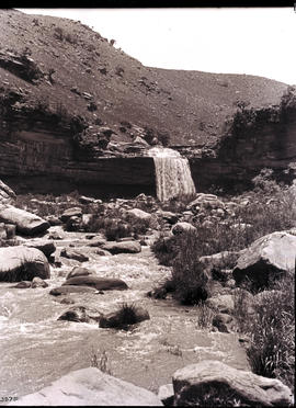 Vryheid district, 1923. Gobeni Falls on General Louis Botha's farm.