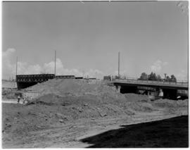 Johannesburg, March 1947. New bridge at Harrison Street.