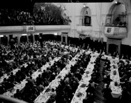 Cape Town, 17 February 1947. State banquet in city hall.