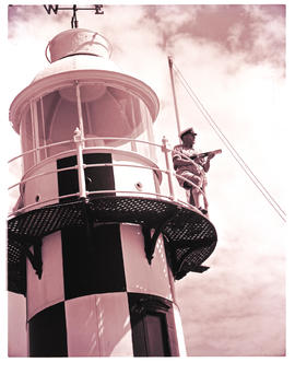 Port Shepstone, 1952. Lighthouse.