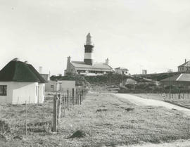 Cape Agulhas, 1955. Lighthouse.
