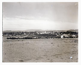 """Aliwal North, 1938. Town viewed from a distance."""