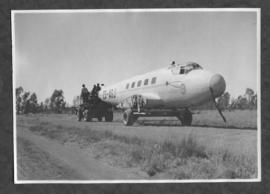 SAA Junkers JU-86 ZS-AGJ 'General David Baird' without wings being transported.
