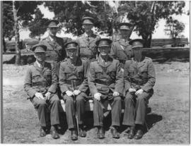Boksburg, September 1940. SAR&H Brigade officers at Mapleton.