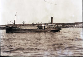 Port Elizabeth, 1924. New dredger.