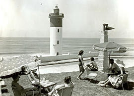 Umhlanga Rocks, 1957. Lighthouse.