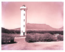 Cape Town, 1960. Cape Hangklip lighthouse.