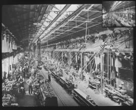 Cape Town. Locomotive workshops at Salt River.