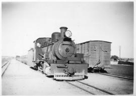 South-West Africa, 1937. SAR Class NG15 with train.
