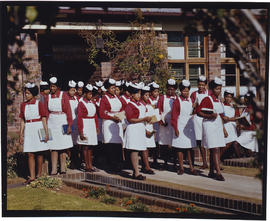 Student nurses at the College of Nursing.