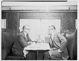 """1954. Blue Train dining car."""