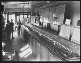 Cape Town. Railway station signal cabin.