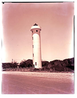 Cape Town, 1966. Milnerton lighthouse.
