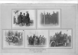 Beaconsfield, 10 April 1908. Collage of five images of opening ceremony of the Beaconsfield - Blo...